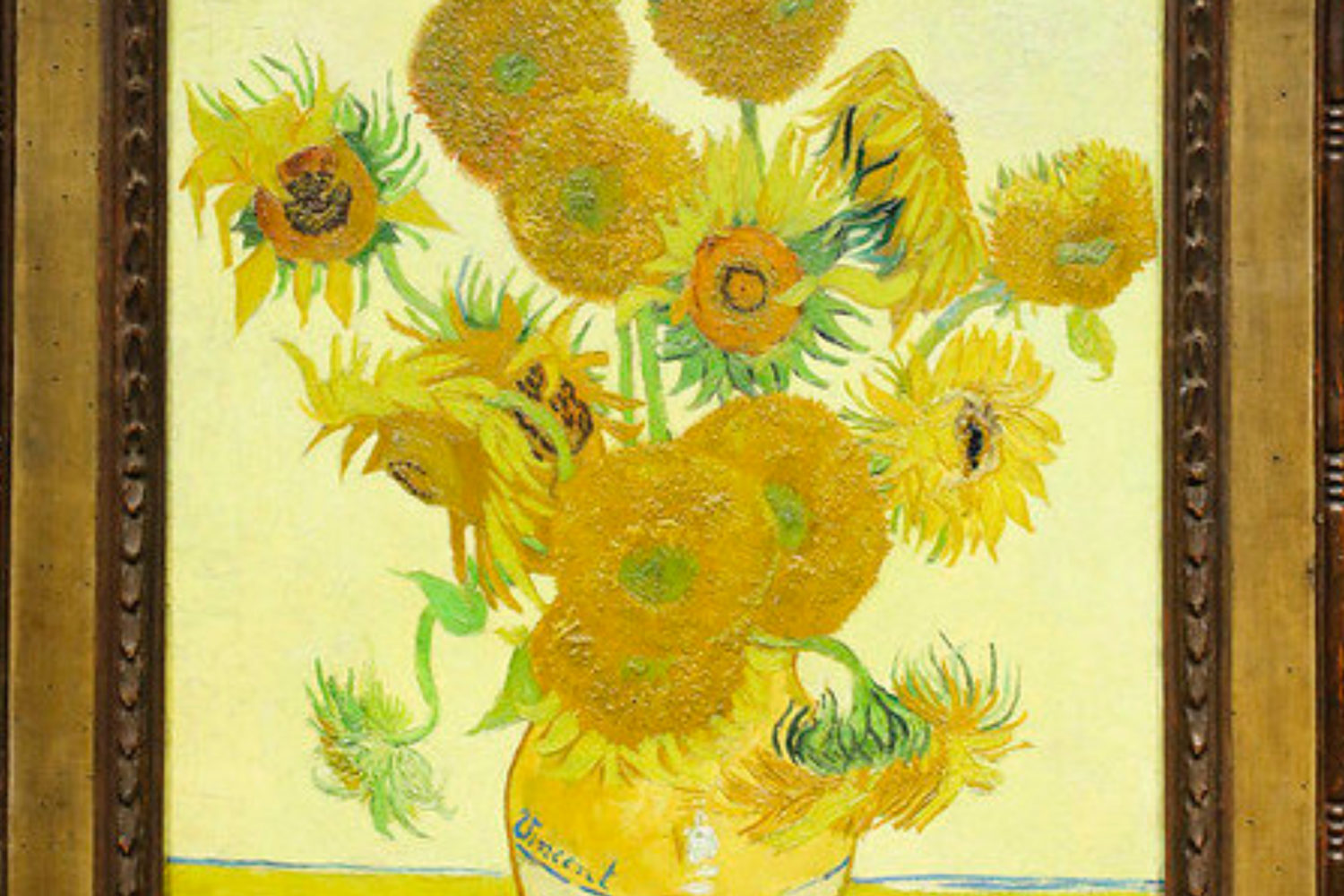 national gallery private tour guide sunflowers van gogh