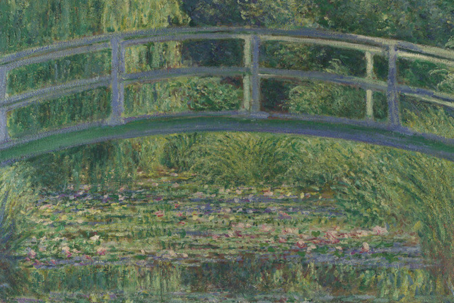 national gallery private tour guide water lillies pond monet