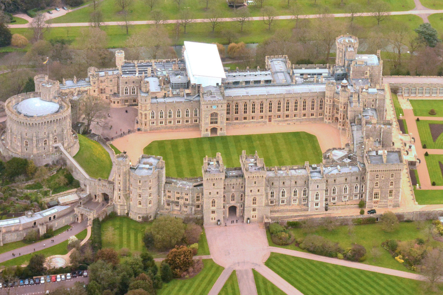windsor castle private tour guide aerial
