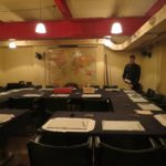 Churchill war rooms private tour guide - cabinet meeting room