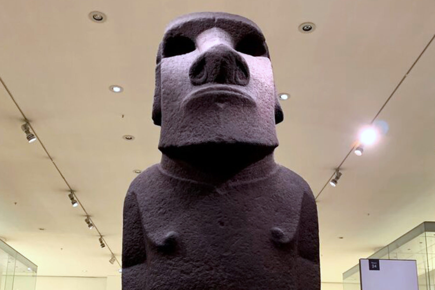 british museum private tour guide easter island sculpture