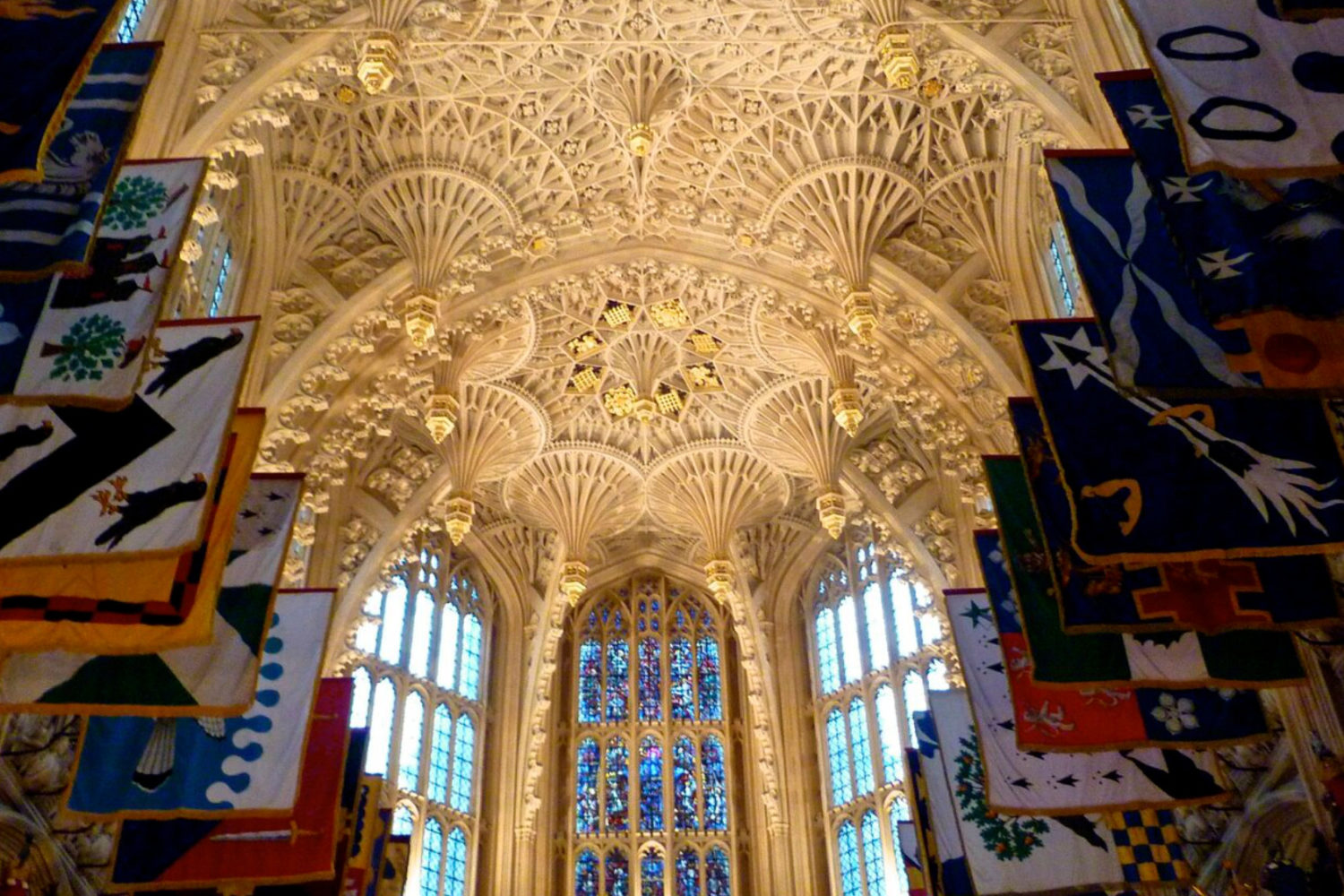 westminster abbey private tour ceiling