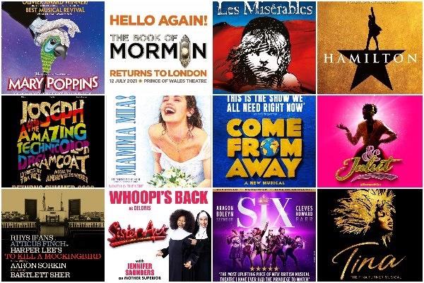 london theatre musicals shows